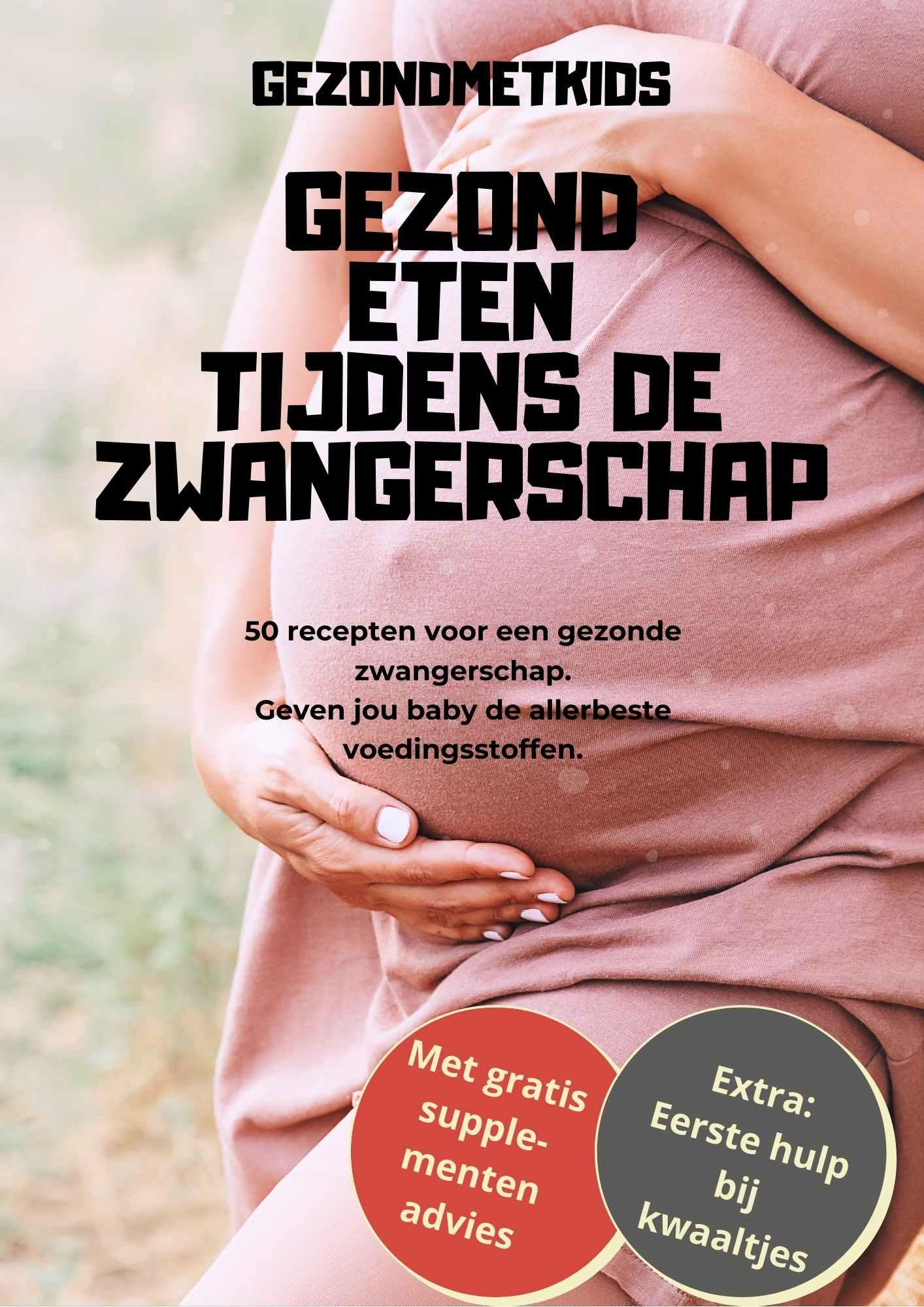 zwanger eten gezonde zwangerschap