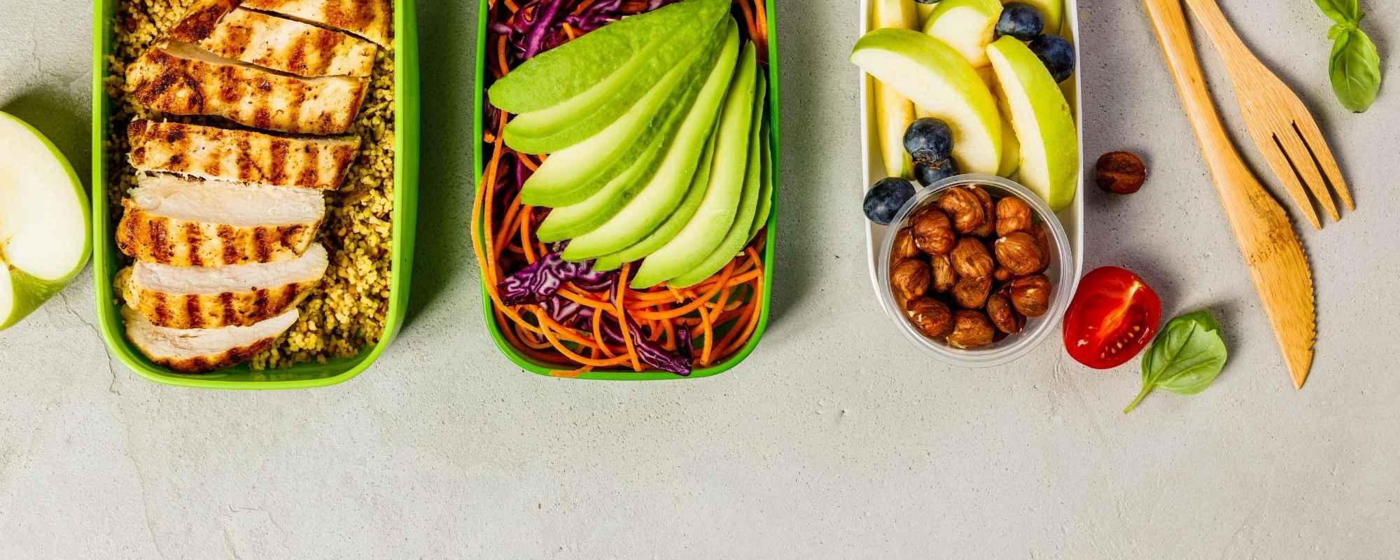 gezonde lunchtrommel